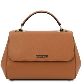 Large Leather Handbag - Tarare