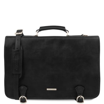 Leather Messenger Bag for Men - Ancona