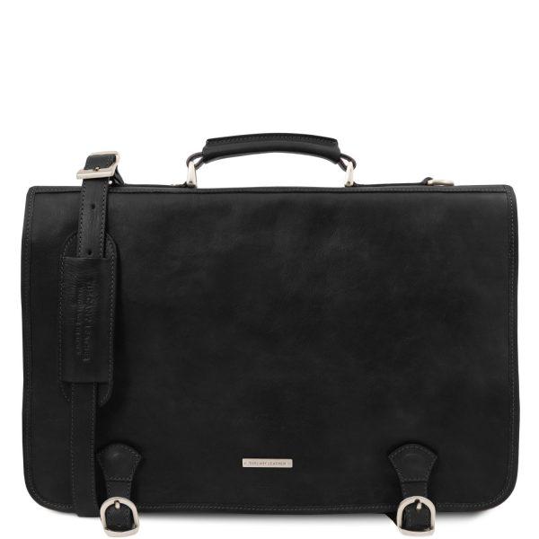 Leather Messenger Bag for Men - Ancona