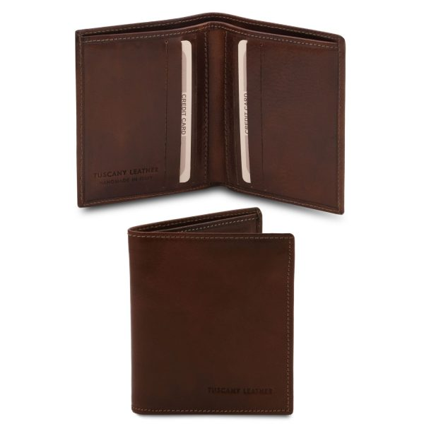 Exclusive 2-Fold Leather Wallet for Men - Velaux