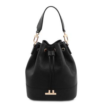 Leather Secchiello Bag – Viste