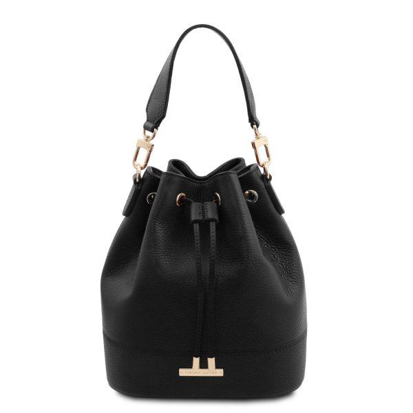 Leather Secchiello Bag – Viste