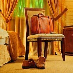 Resväskor I italienskt läder