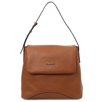 Soft Leather Shoulder Bag – Luynes