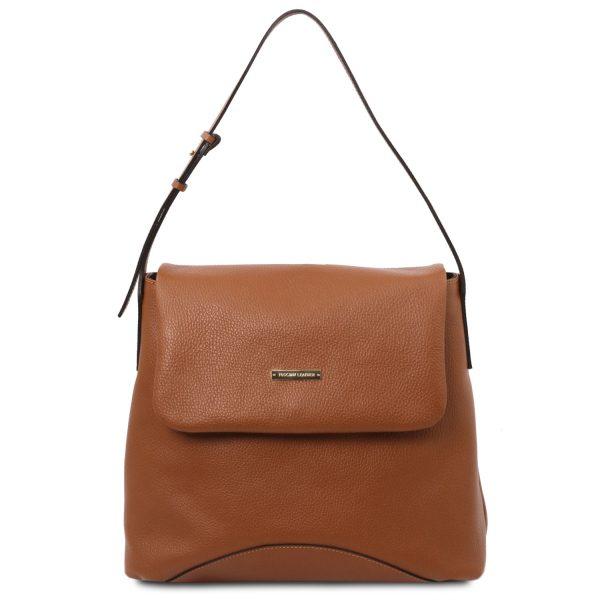 Soft Leather Shoulder Bag – Luynes