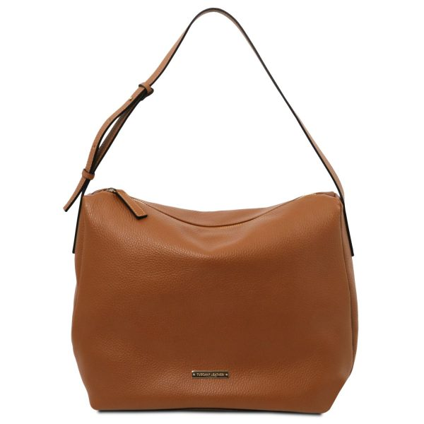 Soft Leather Shoulder Bag – Mimet