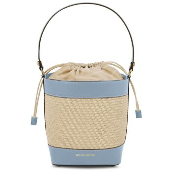 Straw Effect Bucket Bag – Louise