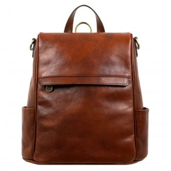 Leather Backpack for Women – The Waves