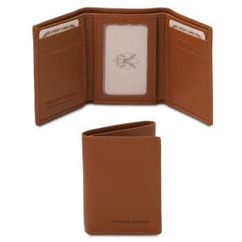 Exclusive Soft 3-Fold Leather Wallet – Duras