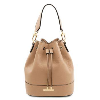 Leather Bucket Bag – Lauzerte
