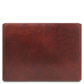 Leather Desk Pad with Inner Compartment