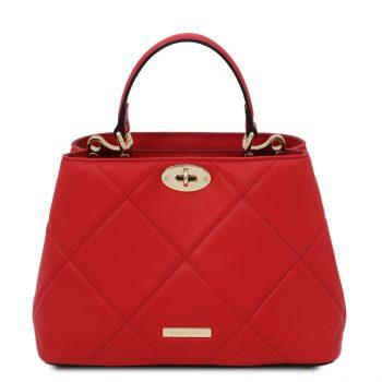 Soft Quilted Leather Handbag – Eymet